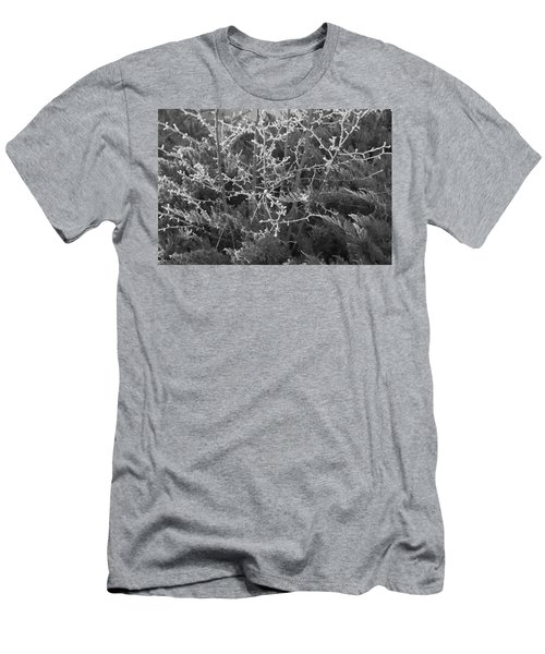 Men's T-Shirt (Athletic Fit) featuring the photograph Frosty Morning # 3 by Antonio Romero
