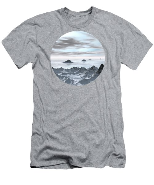 Frozen Arctic Sea Men's T-Shirt (Athletic Fit)