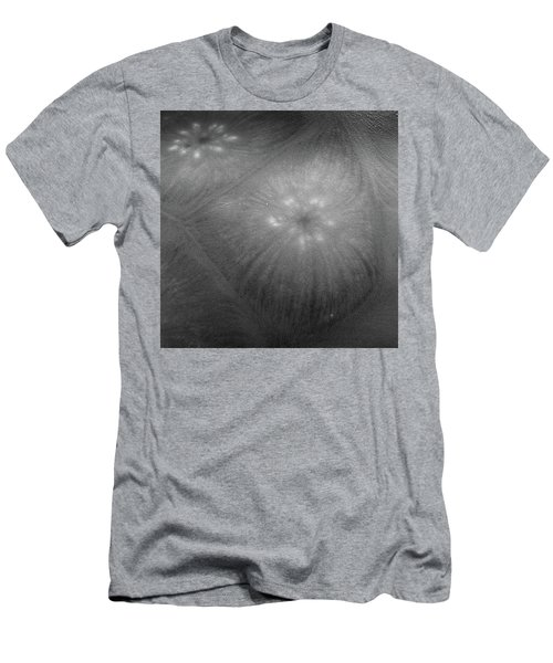 Frozen Ice Star Burst Men's T-Shirt (Athletic Fit)