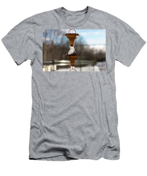 Frozen Rain Chains Men's T-Shirt (Athletic Fit)