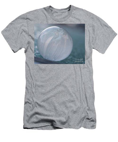 Frozen Soap Bubble -georgia Men's T-Shirt (Athletic Fit)