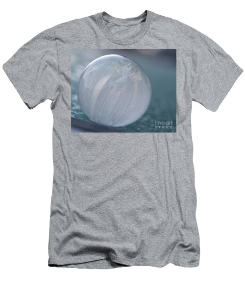 Frozen Soap Bubble -georgia Men's T-Shirt (Athletic Fit)