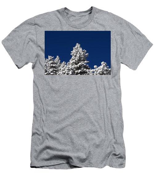 Frozen Tranquility Ute Pass Cos Co Men's T-Shirt (Athletic Fit)