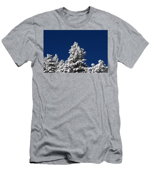 Frozen Tranquility Ute Pass Cos Co Men's T-Shirt (Athletic Fit)