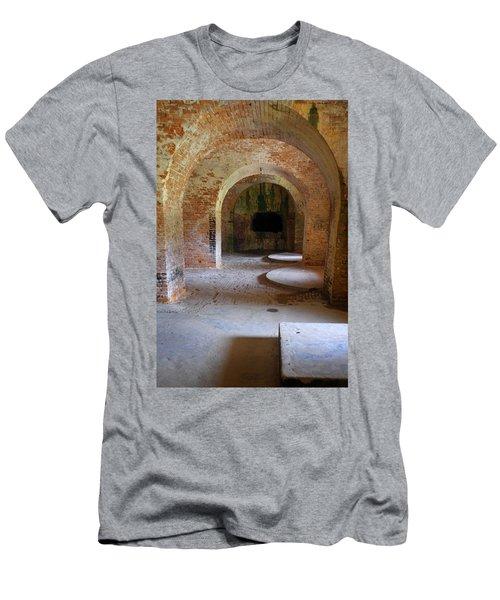 Ft. Pickens Interior 3 Men's T-Shirt (Athletic Fit)