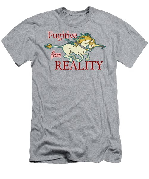 Fugitive Unicorn Men's T-Shirt (Athletic Fit)