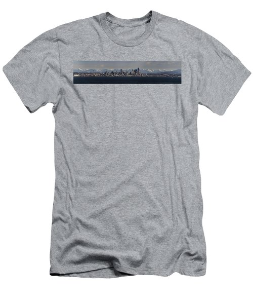 Full Frontal Seattle Men's T-Shirt (Slim Fit) by James Heckt