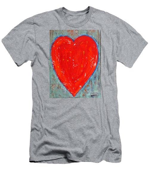Full Heart Men's T-Shirt (Athletic Fit)