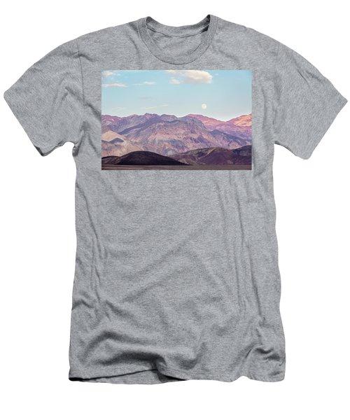 Full Moon Over Artists Palette Men's T-Shirt (Athletic Fit)