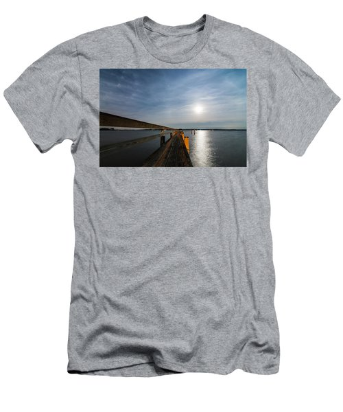 Full Moon Pier Men's T-Shirt (Athletic Fit)