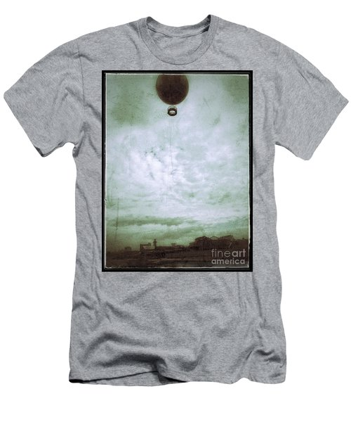 Full Of Hot Air Men's T-Shirt (Slim Fit) by Jason Nicholas