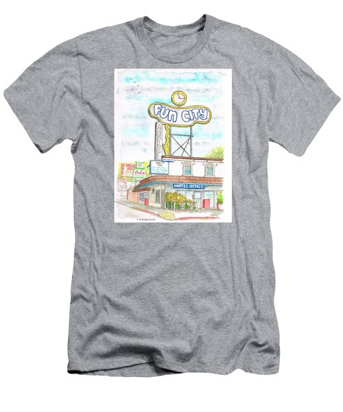 Fun City Motel, Las Vegas, Nevada Men's T-Shirt (Athletic Fit)
