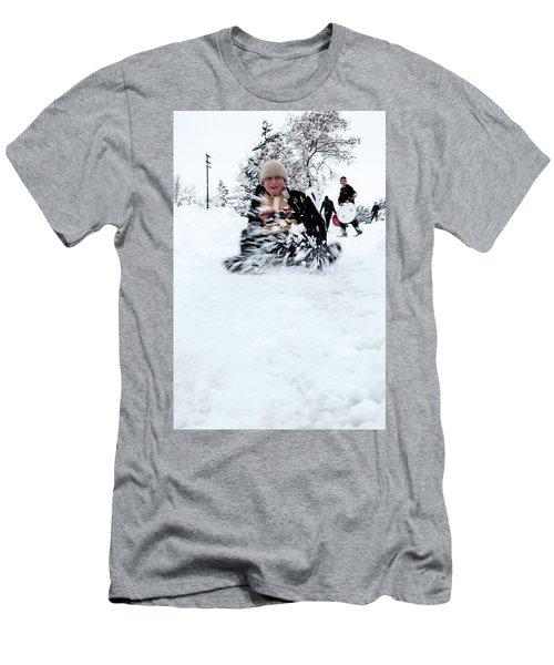Fun On Snow-5 Men's T-Shirt (Athletic Fit)