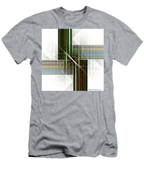 Future  Buildings Men's T-Shirt (Slim Fit) by Thibault Toussaint