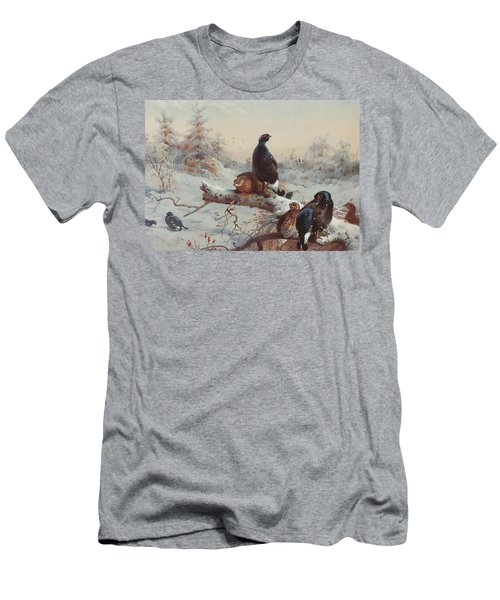 Game Birds  Men's T-Shirt (Athletic Fit)