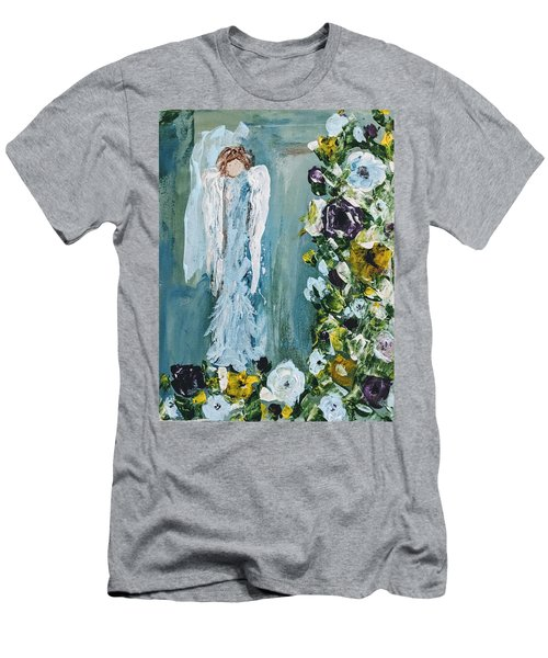 Garden Angel Men's T-Shirt (Athletic Fit)