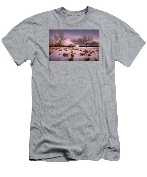 Garden Barn Men's T-Shirt (Slim Fit) by Robert Clifford