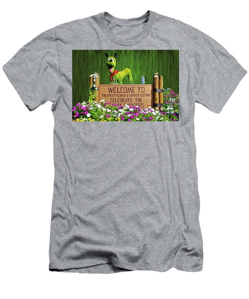 Garden Festival Mp Men's T-Shirt (Slim Fit) by Thomas Woolworth
