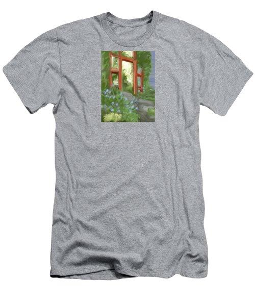 Garden Gate Men's T-Shirt (Athletic Fit)