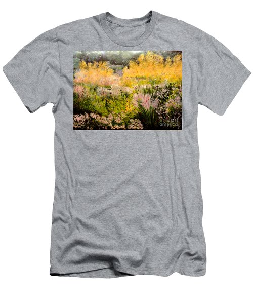 Garden In Northern Light Men's T-Shirt (Athletic Fit)