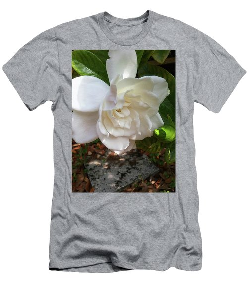 Gardenia Blossom Men's T-Shirt (Athletic Fit)