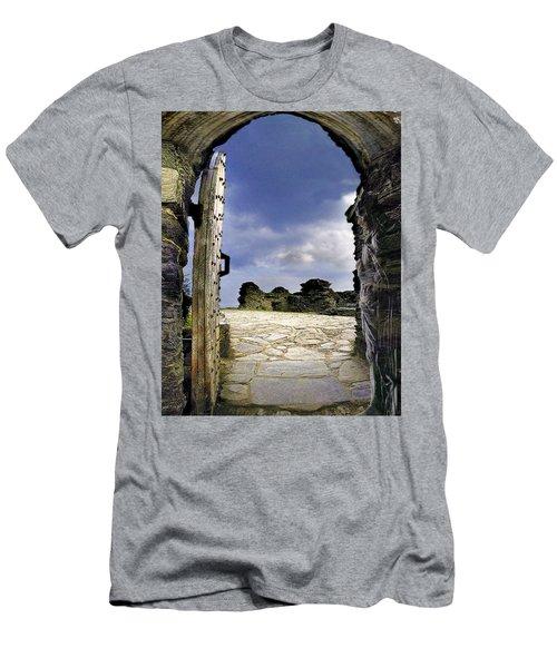 Gateway To The Castle  Men's T-Shirt (Athletic Fit)