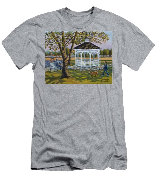 Gazebo In Fireman's Park  Men's T-Shirt (Athletic Fit)