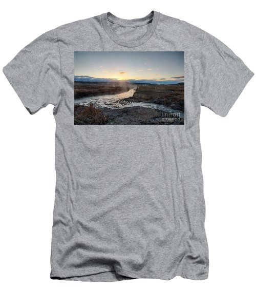 Gem Valley Sunrise Men's T-Shirt (Athletic Fit)