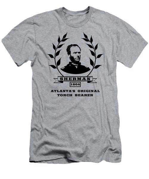 General Sherman - Atlanta's Original Torch Bearer Men's T-Shirt (Athletic Fit)