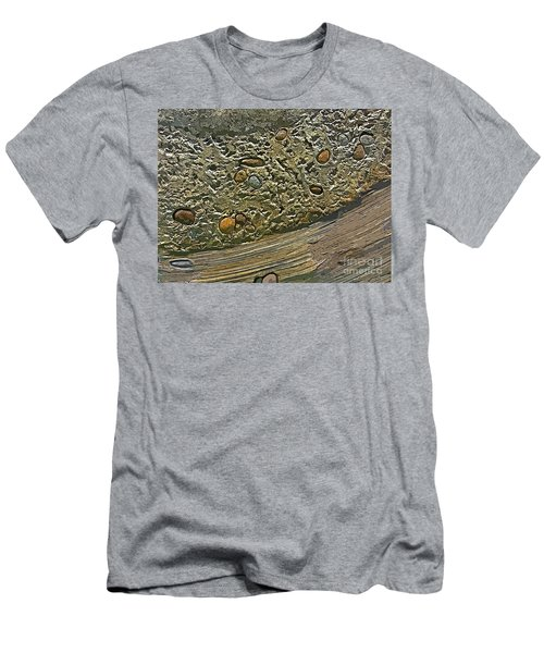 Geological Layers Four Men's T-Shirt (Athletic Fit)