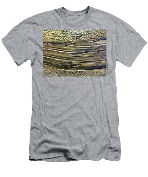 Geological Layers Two Men's T-Shirt (Athletic Fit)