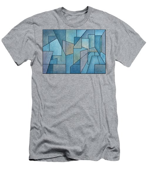 Geometric Abstraction IIi Men's T-Shirt (Athletic Fit)