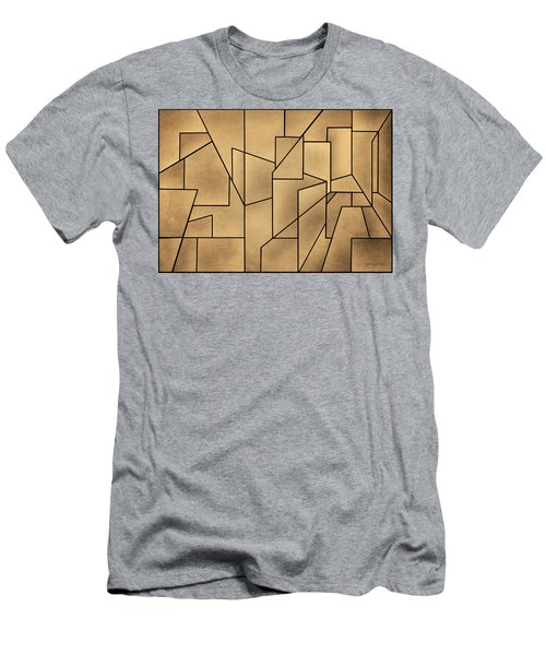 Geometric Abstraction IIi Toned Men's T-Shirt (Athletic Fit)