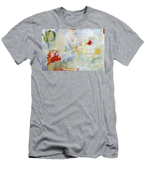 Geometry Of Desire Circles Men's T-Shirt (Slim Fit) by Ann Tracy