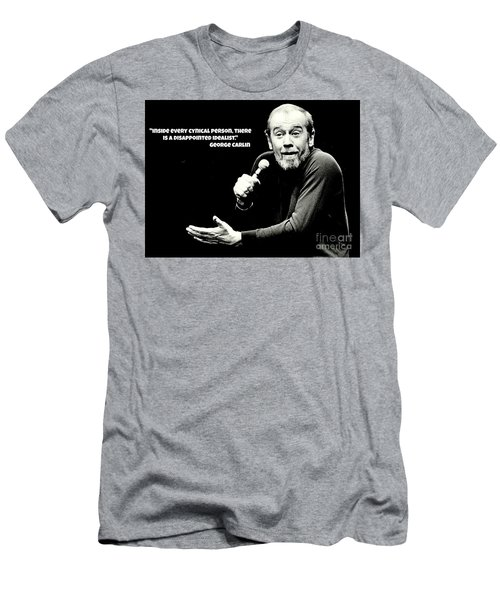 George Carlin Art  Men's T-Shirt (Slim Fit) by Pd