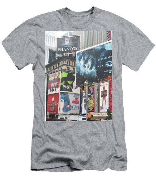 George M Men's T-Shirt (Slim Fit) by David Jaffa