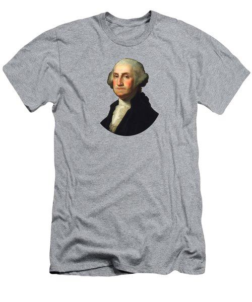 George Washington - Rembrandt Peale Men's T-Shirt (Athletic Fit)