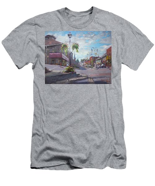 Georgetown Downtown Men's T-Shirt (Athletic Fit)