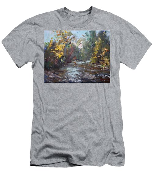 Georgetown Fall Colors Men's T-Shirt (Athletic Fit)