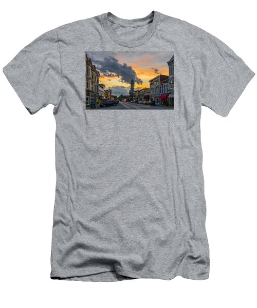 Georgetown Ky Summer Evening Men's T-Shirt (Athletic Fit)