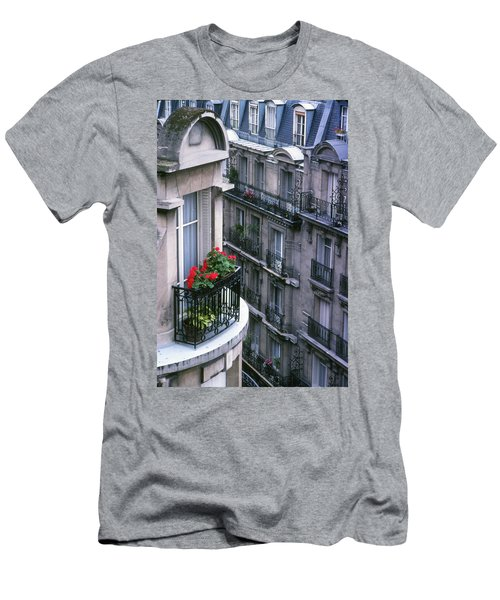 Geraniums - Paris Men's T-Shirt (Athletic Fit)