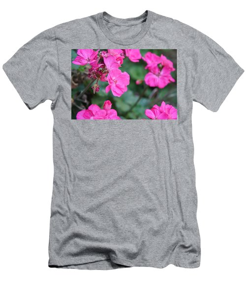 Geraniums Men's T-Shirt (Athletic Fit)
