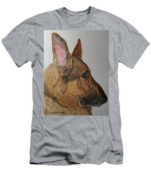 German Shepherd Men's T-Shirt (Athletic Fit)