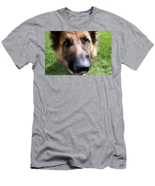 German Shepherd Dog Men's T-Shirt (Athletic Fit)