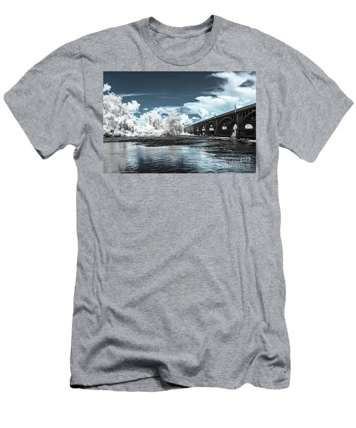 Gervais St. Bridge-infrared Men's T-Shirt (Athletic Fit)