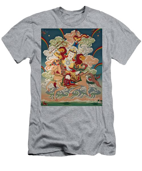 Gesar Gyalpo Men's T-Shirt (Slim Fit) by Sergey Noskov