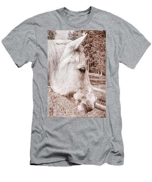 Get My Good Side, Please Men's T-Shirt (Athletic Fit)