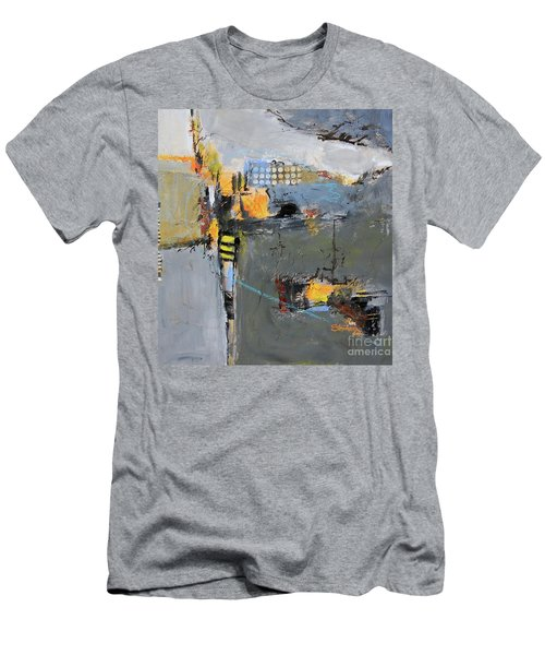 Getting There Men's T-Shirt (Slim Fit) by Ron Stephens