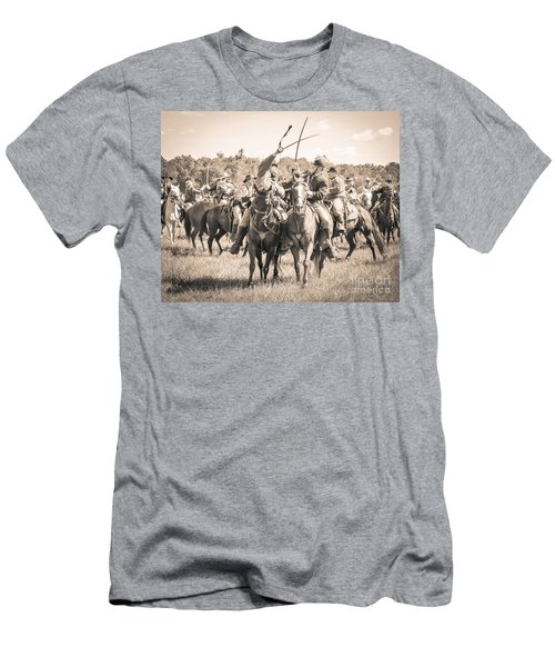 Gettysburg Cavalry Battle 7992s  Men's T-Shirt (Athletic Fit)