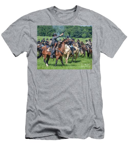 Gettysburg  Union Cavalry 7920c  Men's T-Shirt (Athletic Fit)